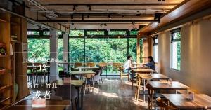 【番紅花專欄/新竹竹北】或者書店|有機書森林裡的蔬食餐桌