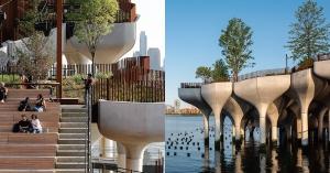 【綠建築】走出都市,紐約多了一座「島」:漂浮的城市綠洲Little Island
