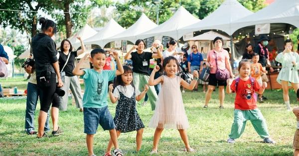 【臺東慢食節】獻上一場給孩子們的慢食節!市集、親子手作、草地遊戲,童趣餐桌可愛登場