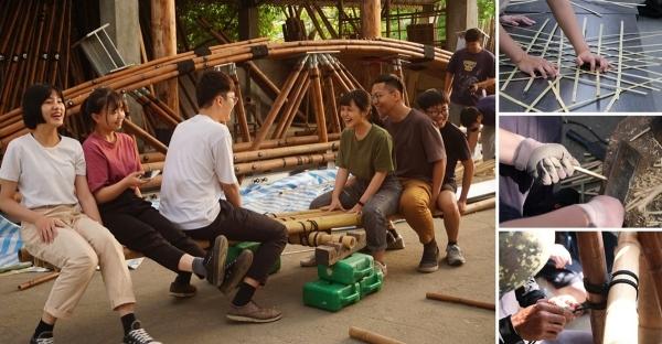 【構竹林鐵】跟著竹工專家學8種竹構基礎工法!建築系學生的竹設計初體驗
