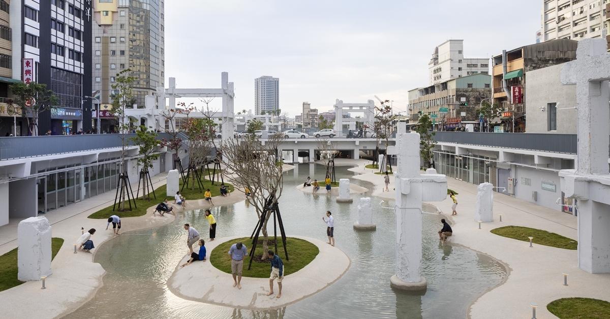 【都市生態學】河樂廣場:MVRDV改造舊商場,勾勒一池台南人的潟湖記憶