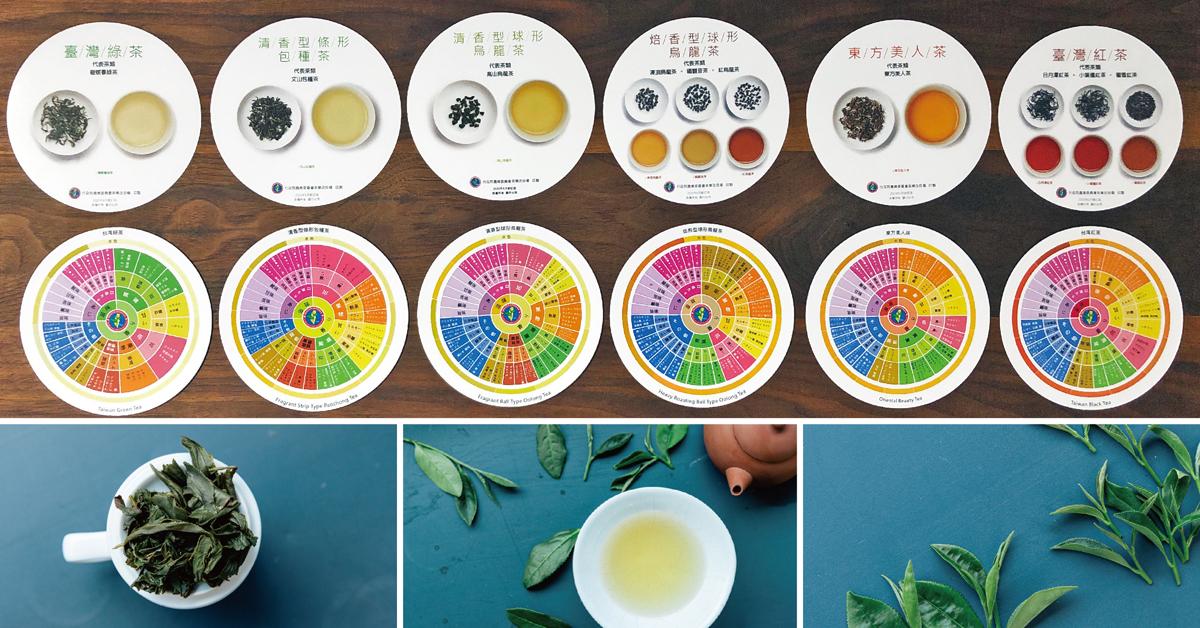 【2021有機茶大賞 03】風味輪:找到你的茶味蕾地圖